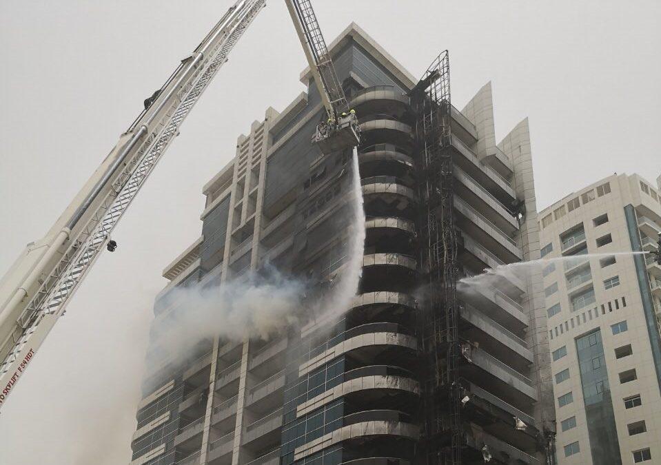 No casualties in Dubai Marina tower fire