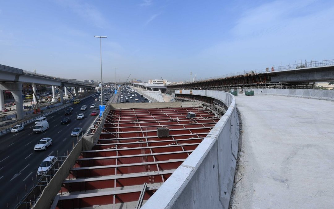 Dh800 million road linking Jumeirah to Al Khail set to open this year