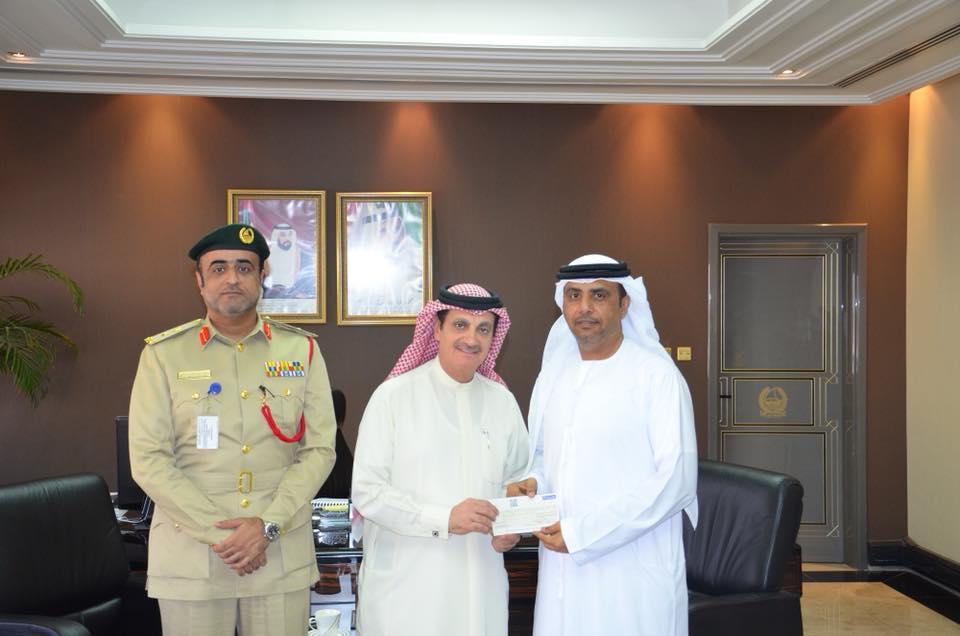 Emirati donates Dh100,000 to help free inmates