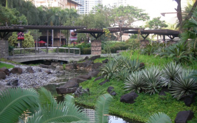 "Greenbelt Park: The ""Green Oasis"" of Manila"
