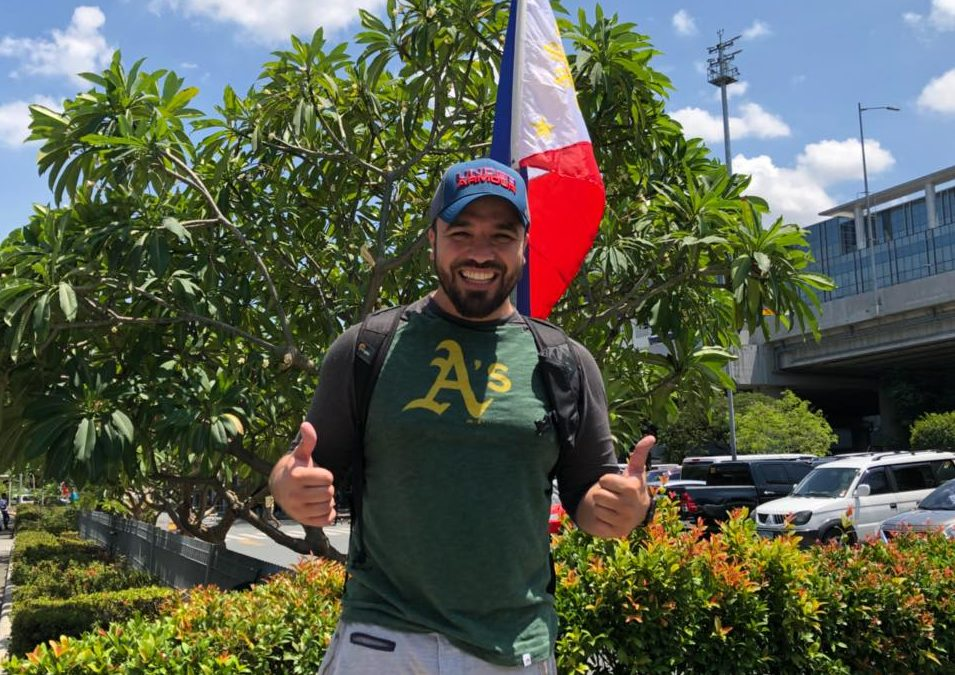 Popular Emirati Vlogger Khalid Al Ameri arrives in Manila