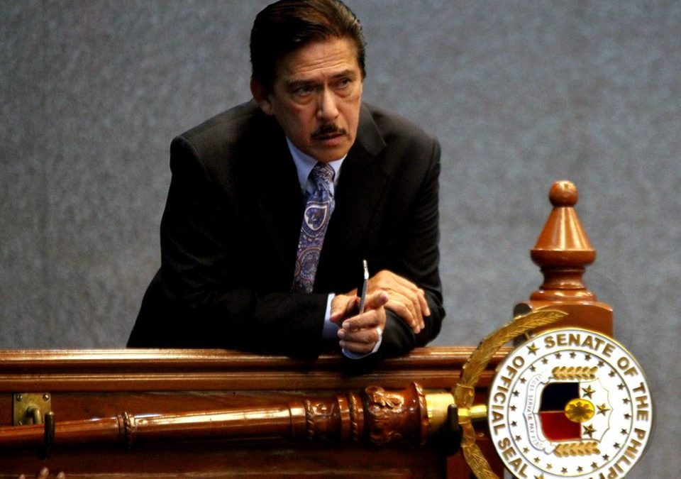 Sotto ready to be replaced anytime as Senate President
