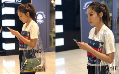 You wouldn't believe how much Sandara Park's 'plastic' shopping bag costs