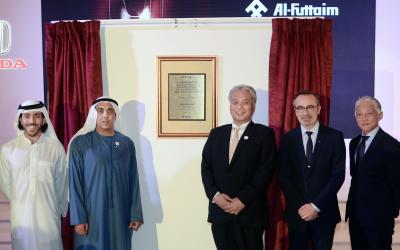 Al-Futtaim Honda opens new facility in Abu Dhabi