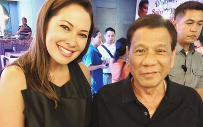 Netizens warn Ruffa Gutierrez about associating with President Duterte, actress reponds