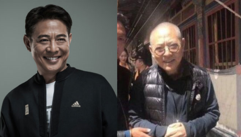 Is the man in this viral photo Jet Li?