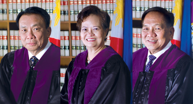 READ: Get to know the Justices who voted for Sereno's ouster