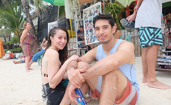 Cristine Reyes walks out when asked about husband Ali Khatibi
