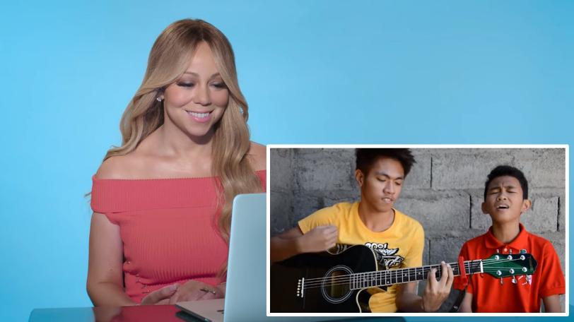 WATCH: Filipino duo wows Mariah Carey