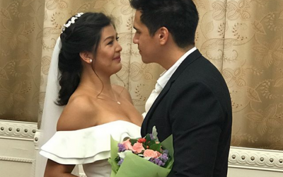 IN PHOTOS: Actress Rich Asuncion ties the knot with Benjamin Mudie in HK