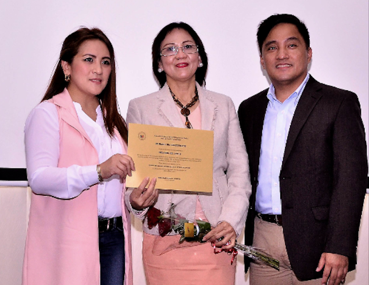 OFW mom's daughter finishes college through POLO-OWWA