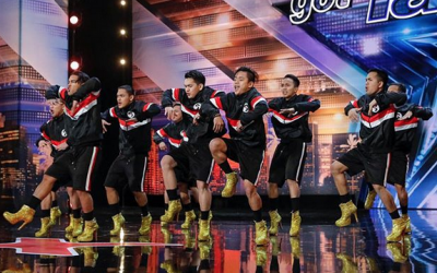 "Pinoy dance group wows judges in ""America's Got Talent"""
