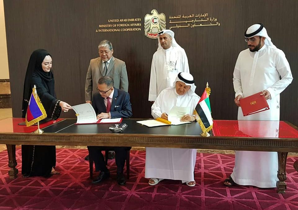 PH and the UAE sign TESDA-NQA MOU in TVET
