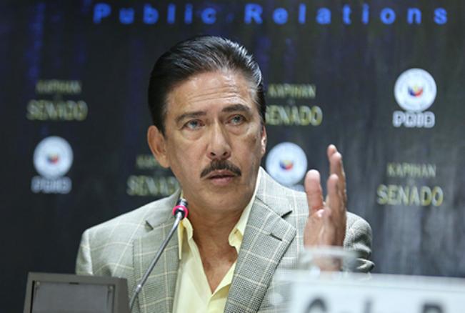 Tito Sotto elected as new Senate President