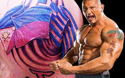 Former WWE wrestler Batista proud of his Pinoy blood