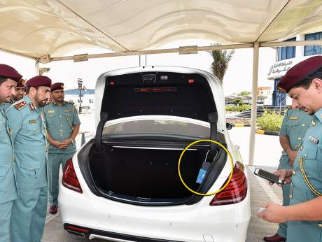 Sharjah Police impound 668 cars at offender's home this year