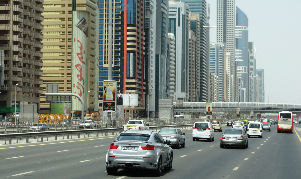 Dubai Police give away cars to drivers with no traffic violations