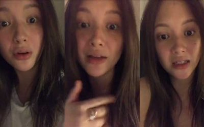 Student explains her side over Ellen Adarna's claim that she is 'paparazzi'