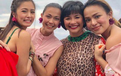 Charo Santos, Kim Chiu go fangirling over Regine Velasquez