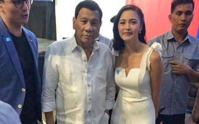 Starstruck Duterte finds Kim Chiu 'gwapa'