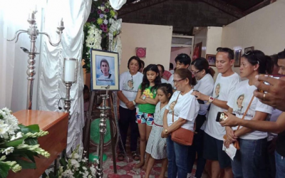 Remains of OFW slain in South Korea now with family; manhunt for suspect continues