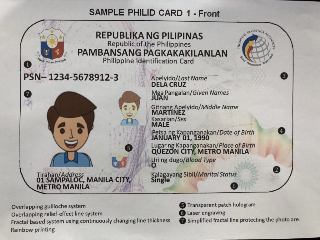 National ID registration to begin in December - The Filipino