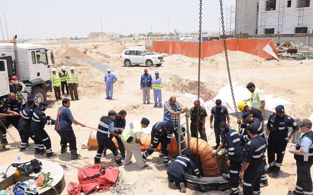 Man falls into excavation hole in Abu Dhabi