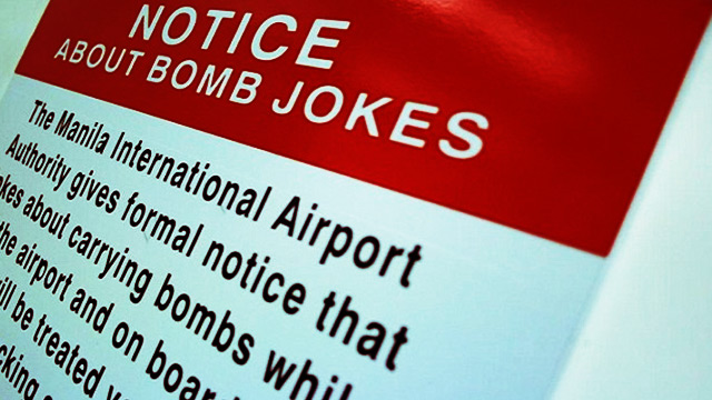 Authorities arrest OFW for making bomb jokes while on flight