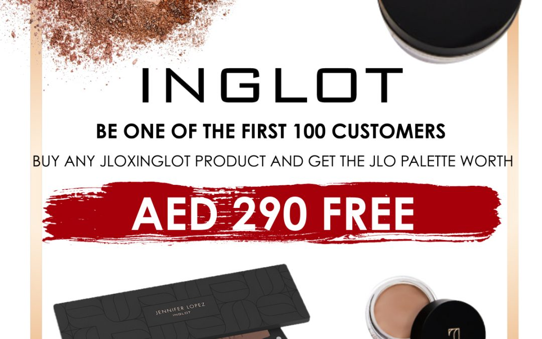Inglot rolls out a one-off Friday offer