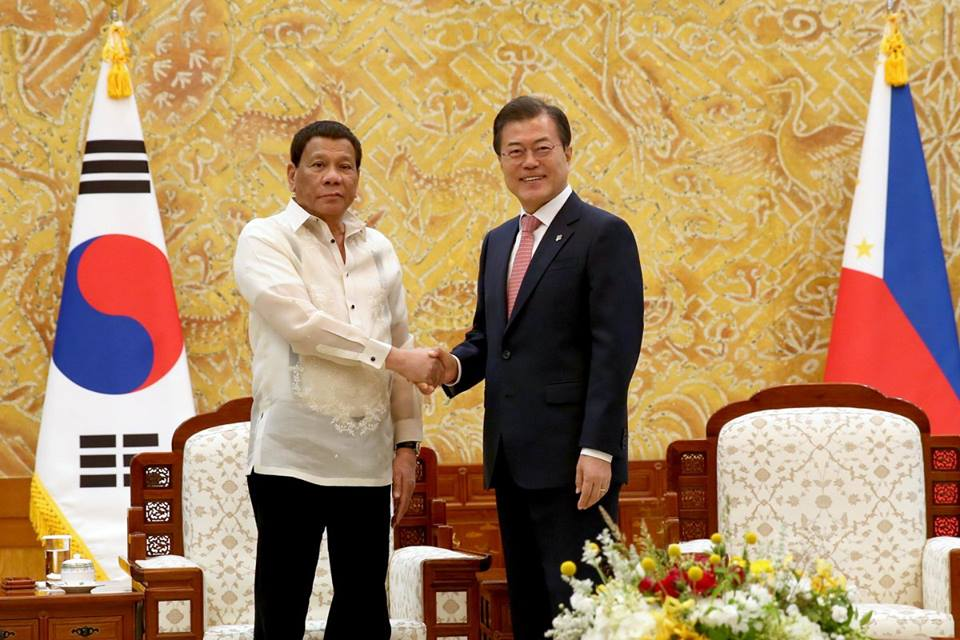 PH, South Korea ink agreements in trade and economy, transportation
