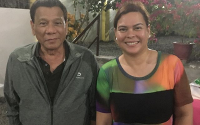 Sara Duterte says not to listen to her father's remarks about religion