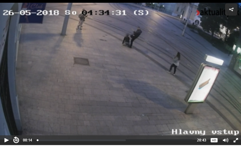 WATCH CCTV FOOTAGE: The attack that killed OFW Henry John Acorda after defending Pinay