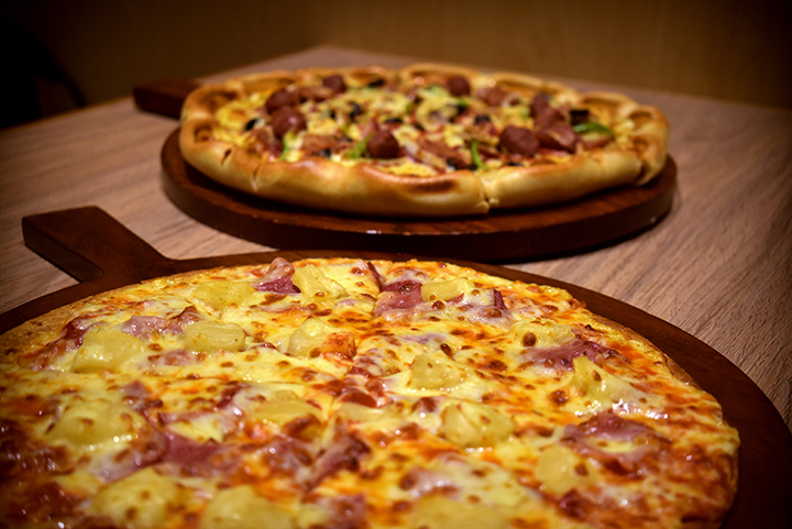 Savor the world's finest pizza at The Pizza Company