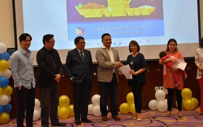 PH Embassy and POLO-OWWA receives a pledge of airfare tickets for the wards from ADFDC