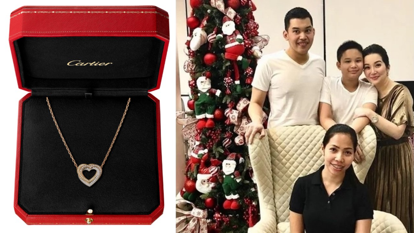 86e75b7f0caa When Kris Aquino gives away gifts, expect that the recipient would receive  something over-the-top, and Yaya Bincai is no different.