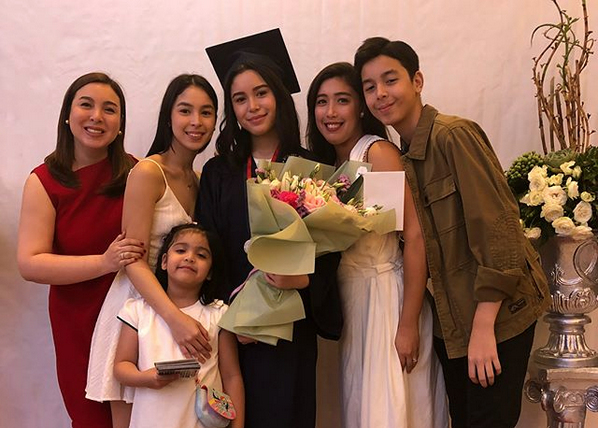 LOOK: Claudia Barretto finishes high school with flying colors