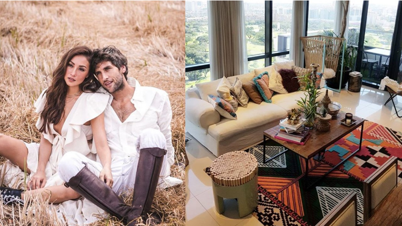 LOOK: Solenn Heussaff, Nico Bolzico move in to new house
