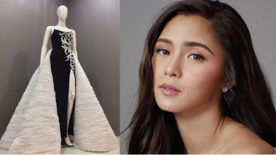 Photo of Did Kim Chiu ignore dress made for her by London-based fashion designer?