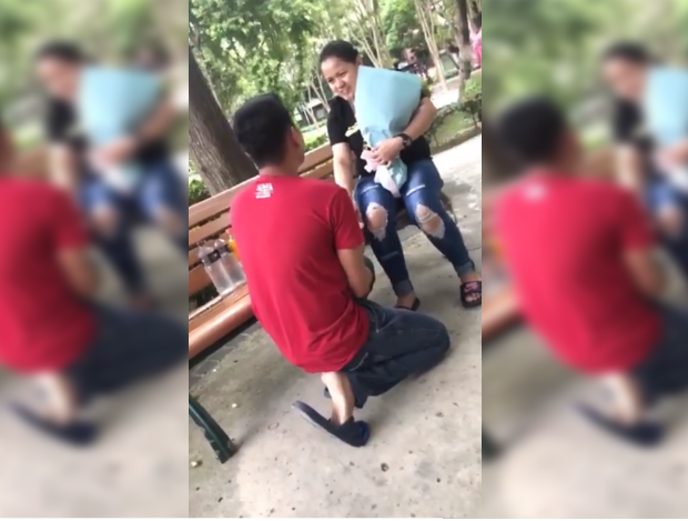 WATCH: OFW's 'busted' wedding proposal goes viral