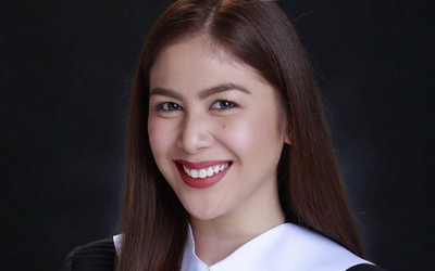 Valerie Concepcion earns college diploma