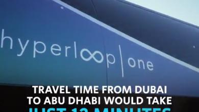 Photo of LOOK: Futuristic Dubai-Abu Dhabi hyperloop prototype unveiled