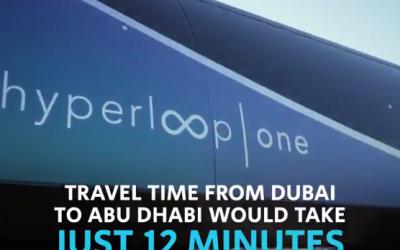 LOOK: Futuristic Dubai-Abu Dhabi hyperloop prototype unveiled