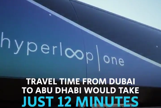 LOOK: Futuristic Dubai-Abu Dhabi hyperloop prototype unveiled