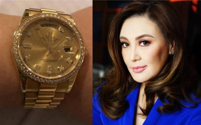 Sharon Cuneta receives backlash after posting photo of diamond-studded Rolex