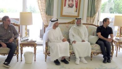 Photo of President Khalifa receives UAE officials