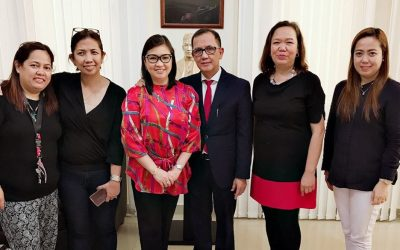 PH Embassy and POLO-OWWA receives a donation of 300 kilos of linens