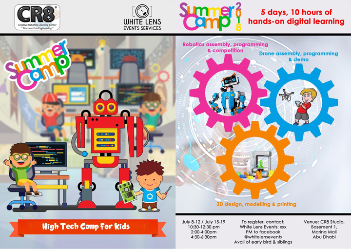 High Tech Camp For Kids To Open This Summer