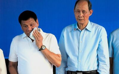 Duterte throws up on return flight to Manila
