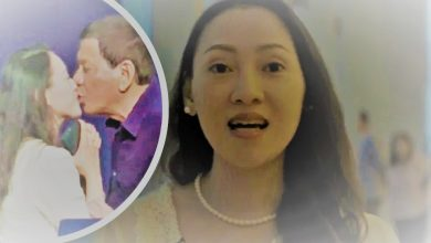 """Photo of Filipina on Duterte's kiss: """"Happy ako kasi once-in-a-lifetime experience 'yun"""""""