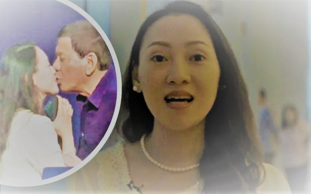 """Filipina on Duterte's kiss: """"Happy ako kasi once-in-a-lifetime experience 'yun"""""""